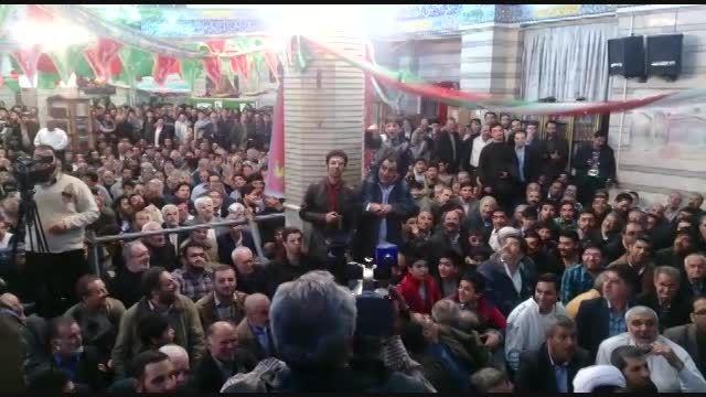 وزیر شعار احمدی نژاد