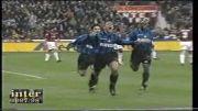 خلاصه بازی اینتر میلان در برابر میلان در فصل 97-98