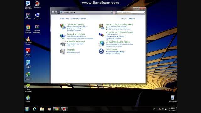 آموزش ساخت حساب کاربری یا همان اکانت در ویندوز 7