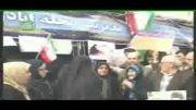 راهپیمایی 22 بهمن 92 سرای محله اباذر منطقه 5 ناحیه 5 تهران