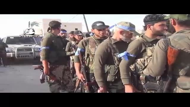 درگیری داعش و مخالفان مسلح در شمال حلب