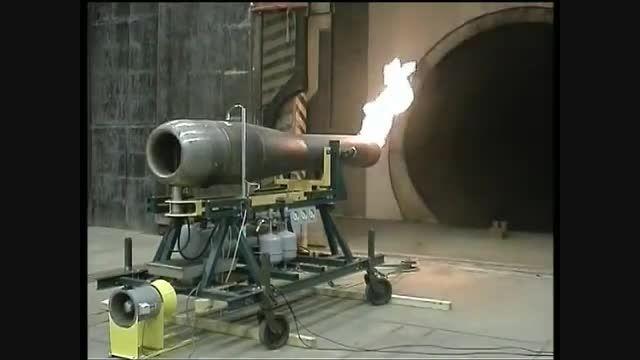 آزمایش موتور پالس جت موشک V-1