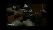 حضور محسن رضایی در سواحل خلیج همیشه فارس به همراه نوای گیتار