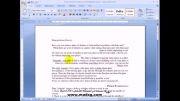 آموزش Word 2007 در سایت مادسیج (غلط یابی)
