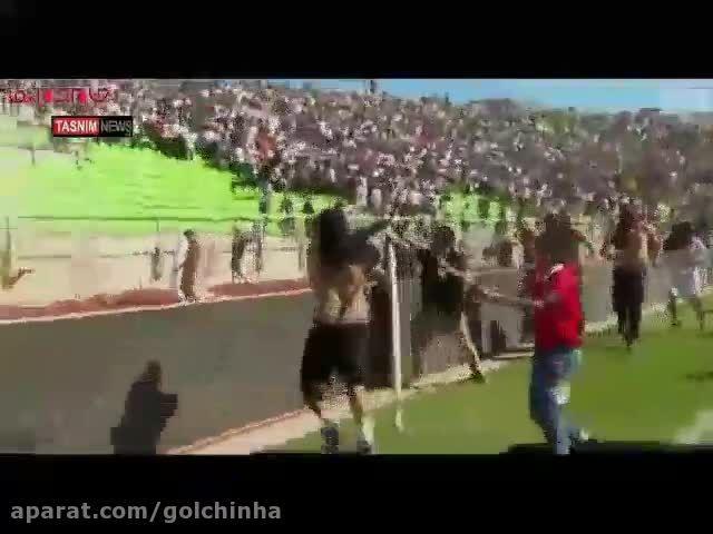درگیری بین هواداران فوتبال در شیلی-گلچین صفاسا