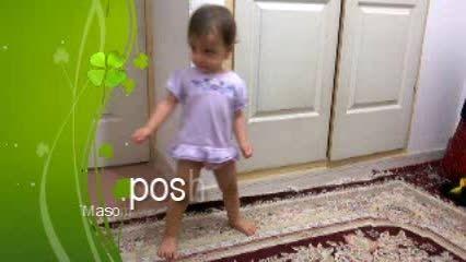 رقصیدن باحال ستایش کوچولو