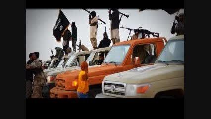 رژه داعش در چند صد کیلومتری اروپا (عکس های رژه )