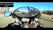 تصادف مرگبار موتورسوار!!