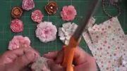 اموزش درست کردن گل با کاغذ