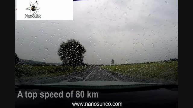 محافظ نانو شیشه خودرو