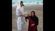 چالش سطل آب یخ - رویا تیموریان