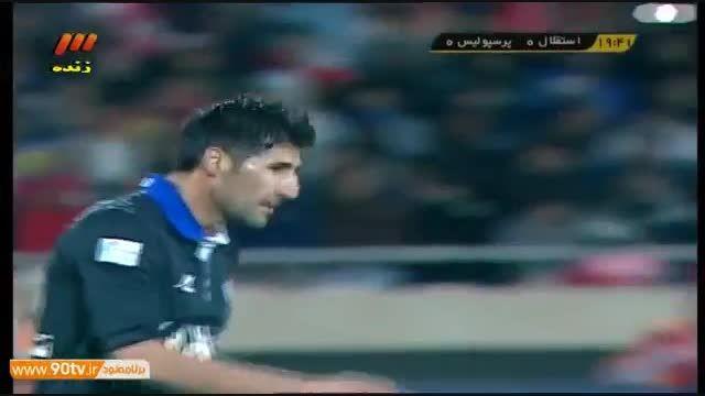 خلاصه جذاب ترین بازی پرسپولیس استقلال آذر 93