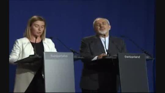 قرائت متن توافقنامه هسته ای ایران و ٥+١