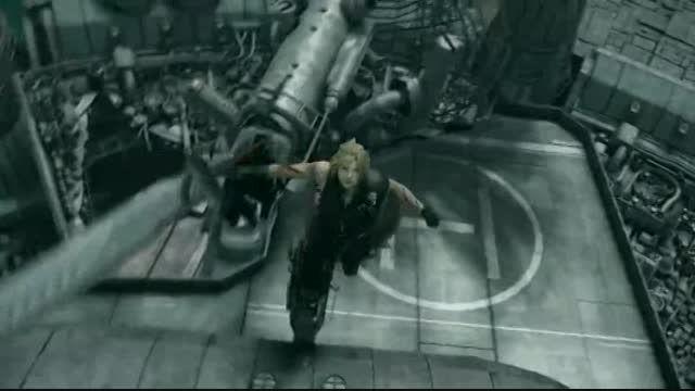 صحنه باحال انیمشین فاینال فانتزی (Final Fantasy VII)