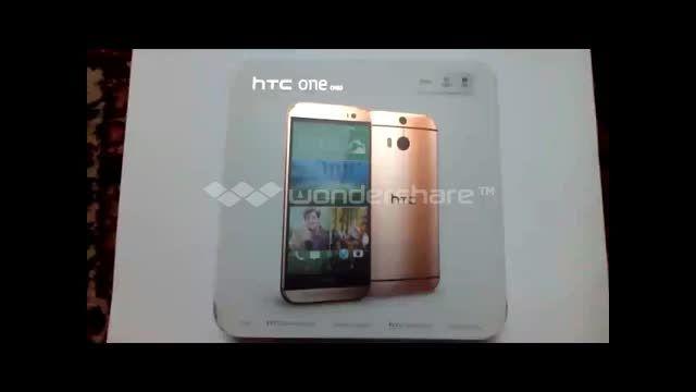 محتویات داخل جعبه موبایل _ HTC ONE M8