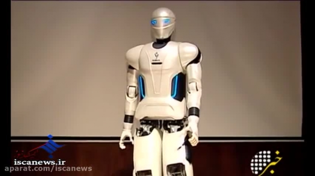 رونمایی از ربات انسان نمای کاملا ایرانی