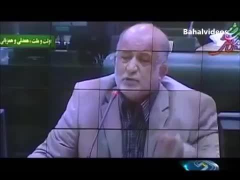 گفتگوی خنده دار نماینده ارومیه با لاریجانی در مجلس !