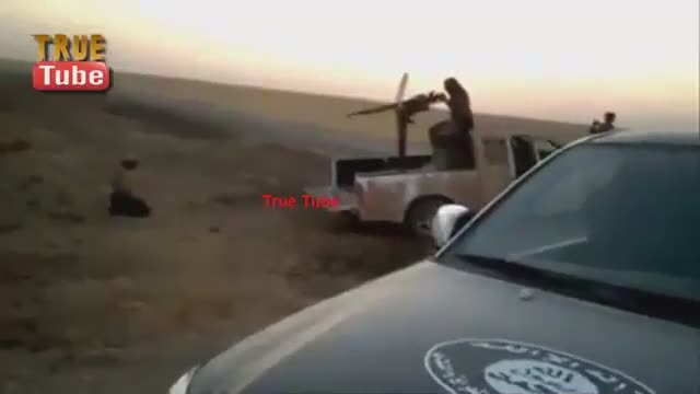 شیوه ی جدید اعدام قربانیان توسط داعش البته قدیمیه