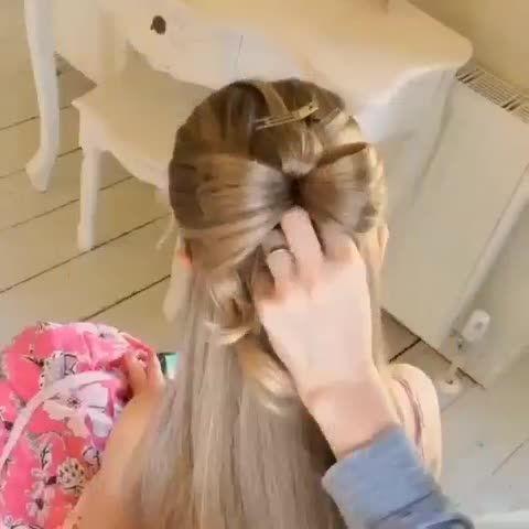 طرز درست کردن مدل پاپیونی برای مو