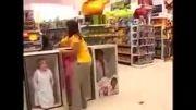 دوربین مخفی درفروشگاه اسباب بازی فروشی و....