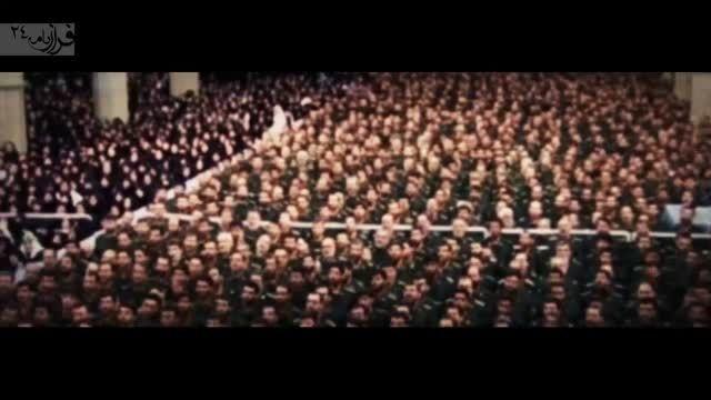 دیدار مقام معظم رهبری با فرماندهان نیروی دریایی سپاه