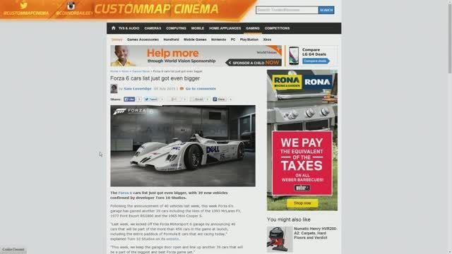 ۴۰ اتومبیل دیگر به لیست اتومبیل های Forza 6 اضافه شد