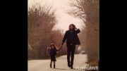 بنیامین بهادری و بارانا دخترش