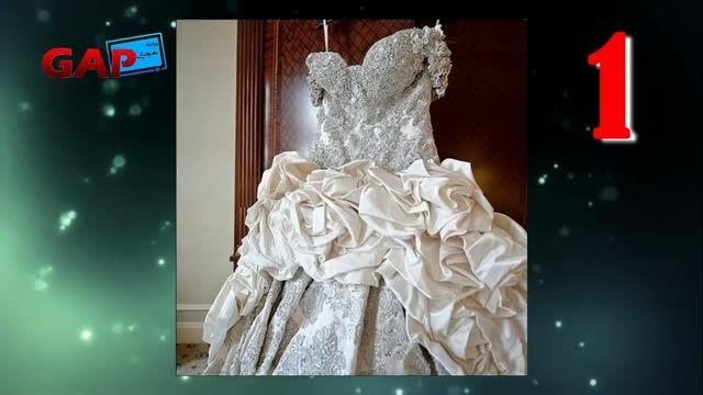 گرانترین لباس عروس های دنیا