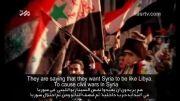 ملت سوریه را در مقابل تهدیدات دشمنان تنها نخواهیم گذاشت
