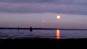 اشیاء نورانی نارنجی در دریای بالتیک (روسیه)
