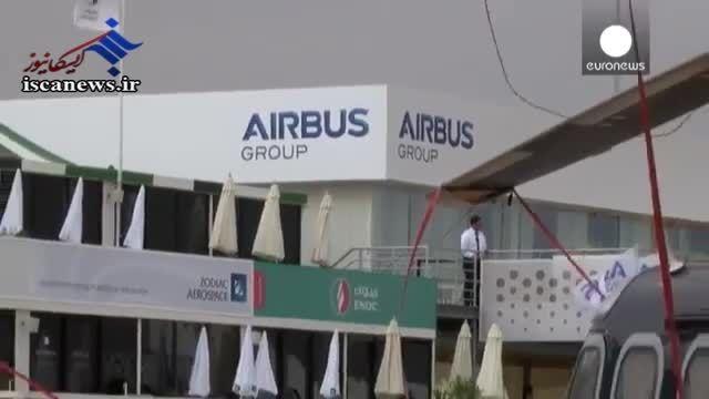 ایرباس و بویینگ ناکامان بزرگ نمایشگاه هوایی دبی