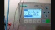 مانیتورینگ سرعت با انکودر و LOGO Siemens