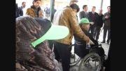 اهدایی جوایز به معلولین
