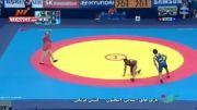 پیروزی اخلاقی مقابل نماینده قطر