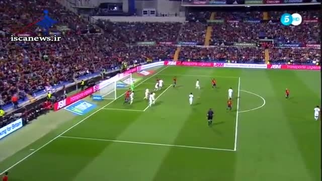 خلاصه بازی : اسپانیا 2 - 0 انگلیس