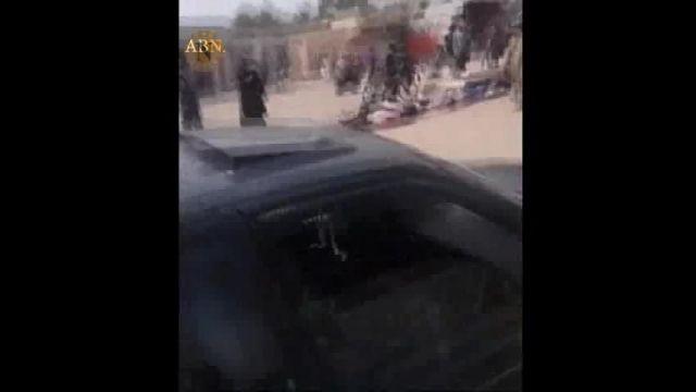 """صحنه اعدام 46 نفر از جوانان منطقه """"هیت"""" توسط داعش"""