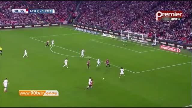 خلاصه بازی: بیلبائو ۱-۲ رئال مادرید
