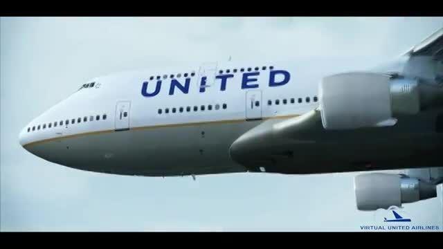 خلبان خطوط هوایی مجازی یونایتد ایرلاین شوید!!