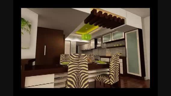 آشپزخانه سه بعدی