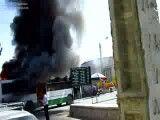 انفجار اتوبوس در نیشابور