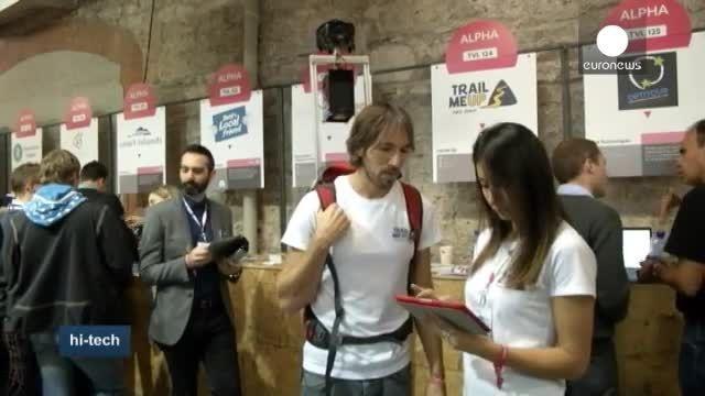 مخترعان جوان در نمایشگاه بین المللی وب دوبلین