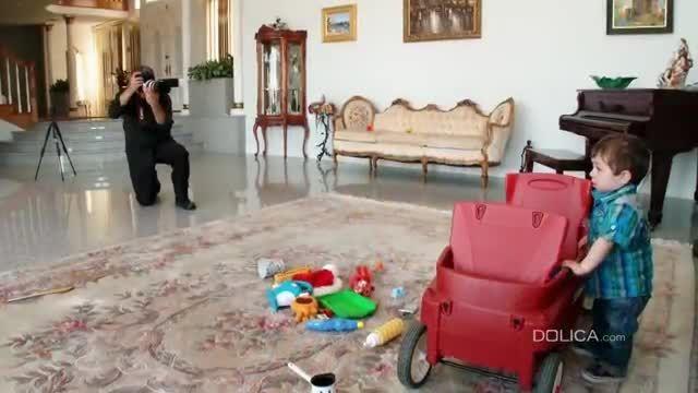 راهنمای عکس گرفتن از کودکان در خانه