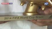 تحویل کفش طلای جام جهانی به خامس رودریگز