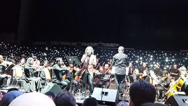 رئیس- رضا یزدانی در شب موسیقی فیلم مسعود کیمیایی