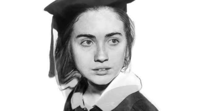 تغییر چهره هیلاری کلینتون از نوجوانی تا 68 سالگی
