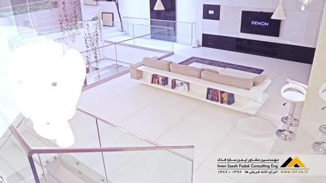 مستند سازی خانه شریفی ها (اطاقهای گردان) وله فضای داخلی