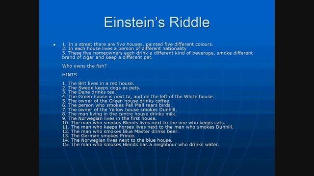 معمای اینشتین و راه حل آن [HD]