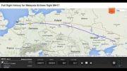 پرواز بوئینگ 777 مالزی بر روی رادار