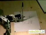 ربات هنرمند چپ دست !!!!