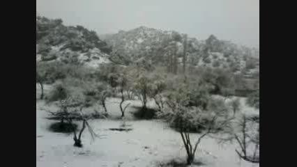 طبیعت کوهشاه هرمزگان روستای مرزاندر در فصل زمستان